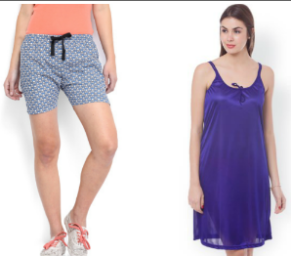 Buy WOMEN LOUNGEWEAR AND NIGHTWEAR at Flat 60% Off on Myntra: Buytoearn