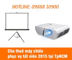Liên hệ đặt thuê máy chiếu tất niên 2015 tại TpHCM