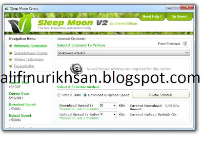 Sleep Moon Aplikasi Mematikan Laptop dengan Tepukan
