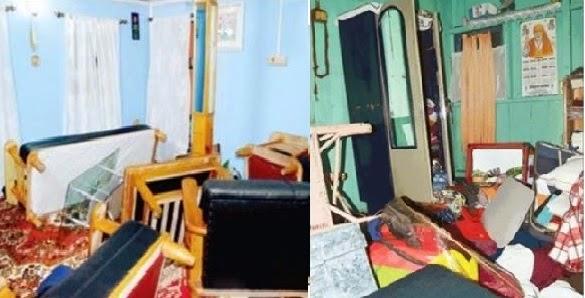 CRPF Raid a House in Tukvar - GJM Accuses Police of Vandalizing