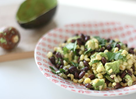 Sauteed Corn and Black Bean Salad