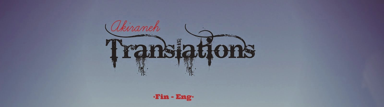 Finnish to English Translations