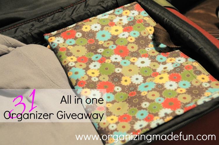 Blogversary Week: Giveaway a Day - 31 Tote Organizer | Organizing ...