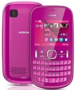 Nokia Asha 201 QWERTY Mobile