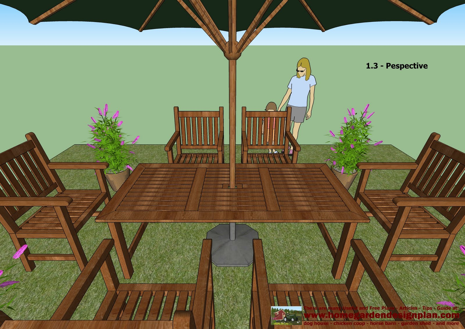 Outdoor Patio Furniture Plans Free
