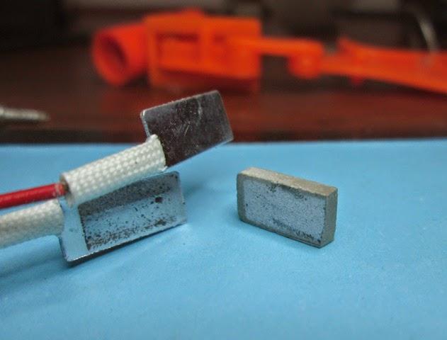membuat bros kain cantik  besi pemanas kabel lem tembak macet mampet