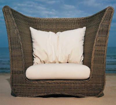 Natural Rattan Sofa