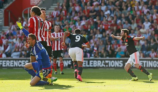 Southampton 2 x 3 Manchester United - Premier League 2015/16