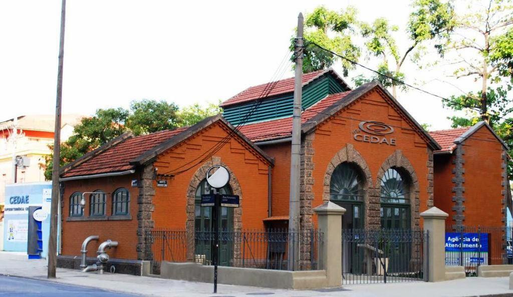Cedae restaura prédios históricos no Rio para ampliar atendimento à população