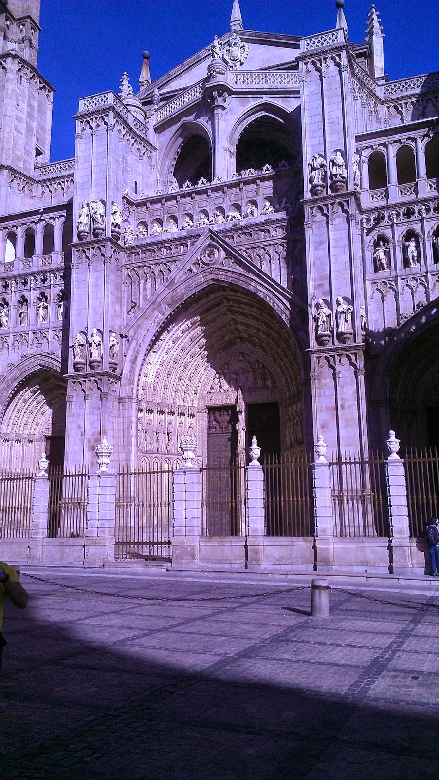 spain travel - toledo cathedral