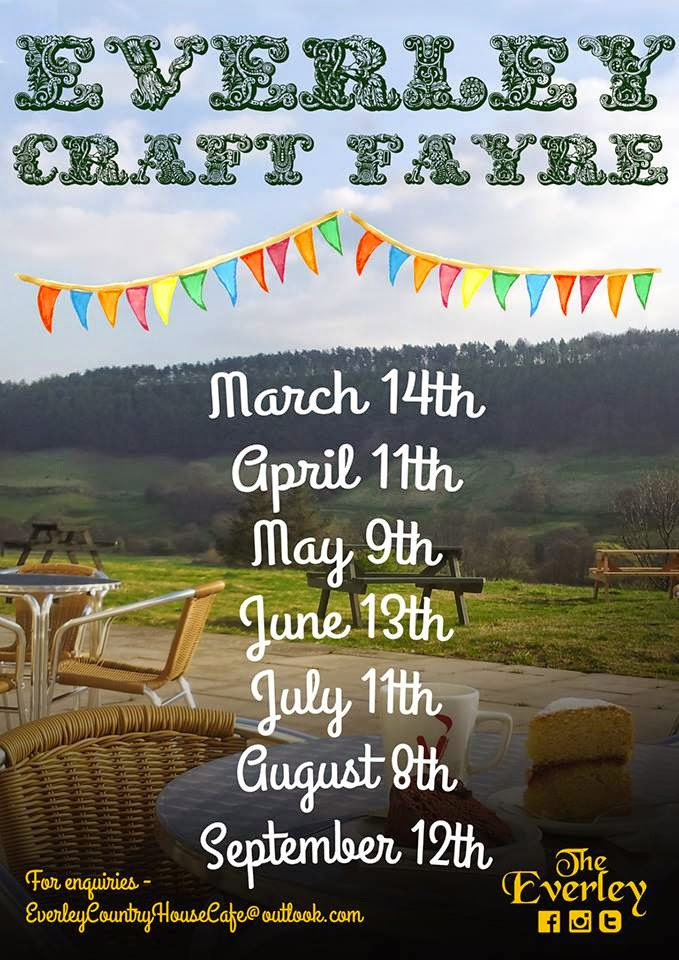 Everley Craft Fairs 2015 Poster