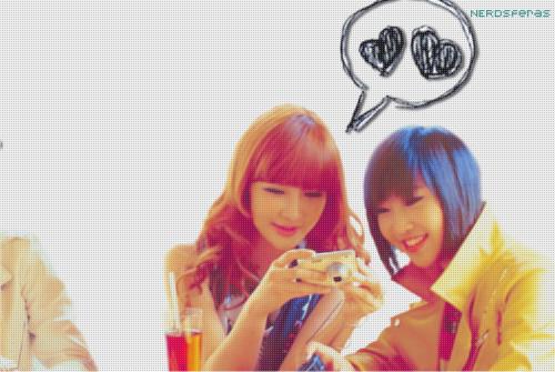 Capas para Facebook: Minzy e Park Bom (2NE1)