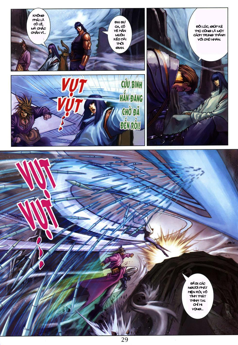 Tứ Đại Danh Bổ chap 222 Trang 26