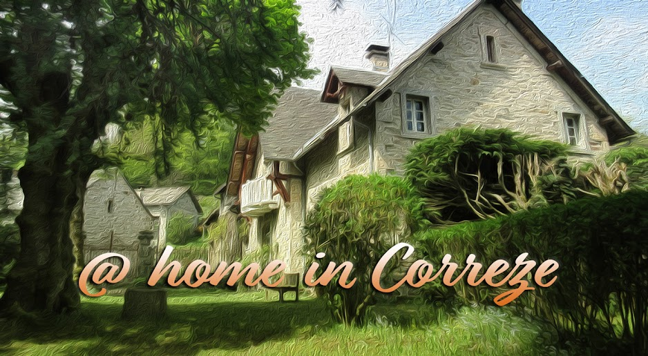 At home in Correze