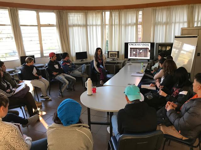 Nos visitó Tatiana Magariños (Directora documentalista)