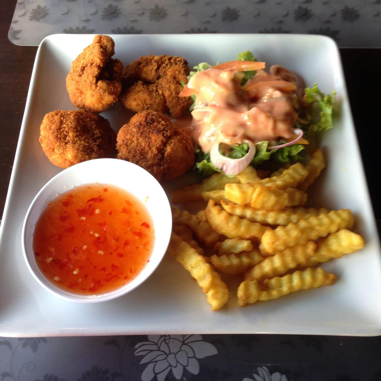Chicken Bites at Shark Lounge