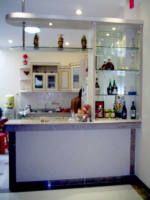 Home interior decorating ideas designing mini bar in our house for Kitchen with mini bar design