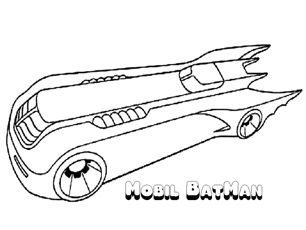 Batman coloring pages printable realistic coloring pages for Batmobile coloring pages