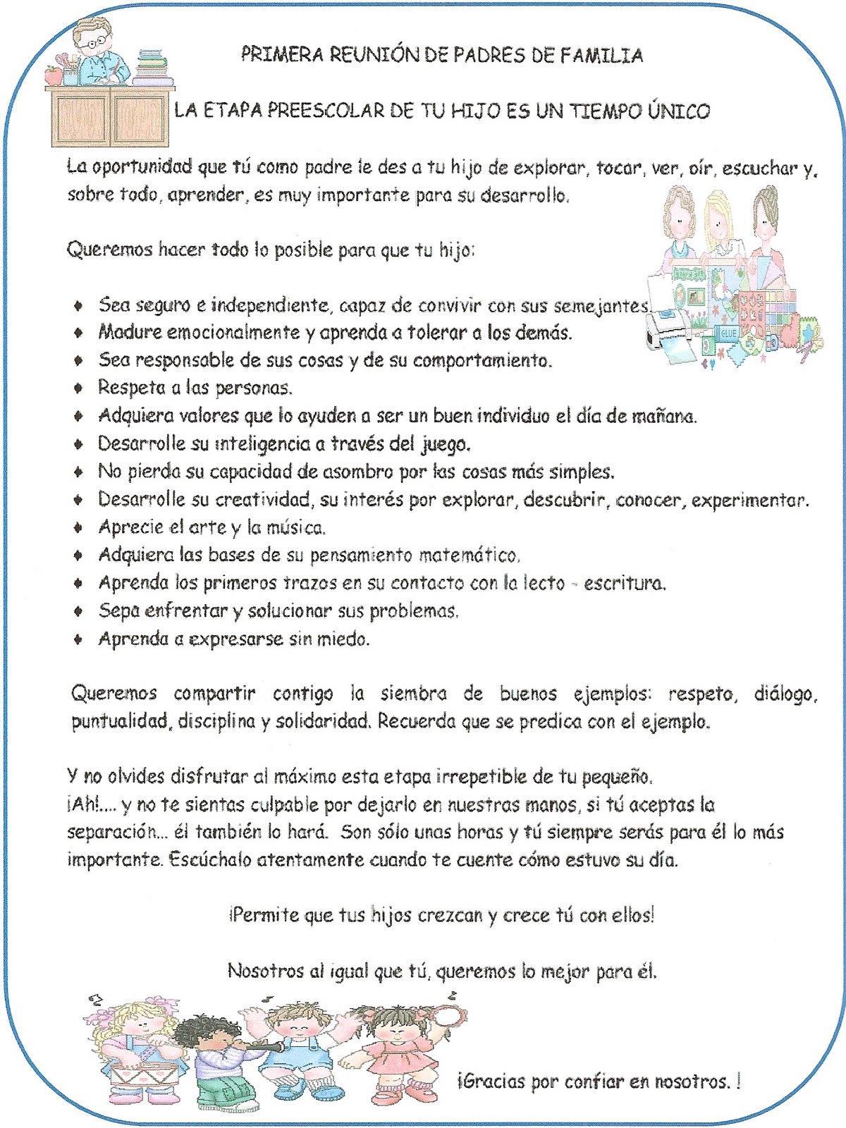 LEARNING IS FUN!: PRIMERA REUNIÓN DE PADRES Y MADRES