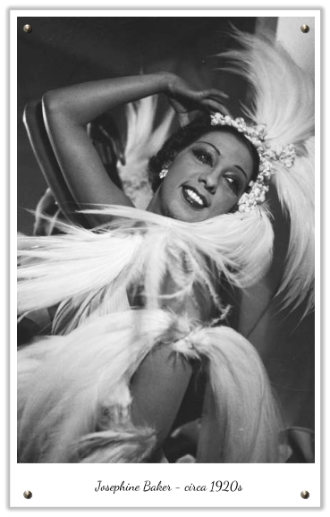 1920s Josephine Baker was a remarkable woman Style wise she wore her hair