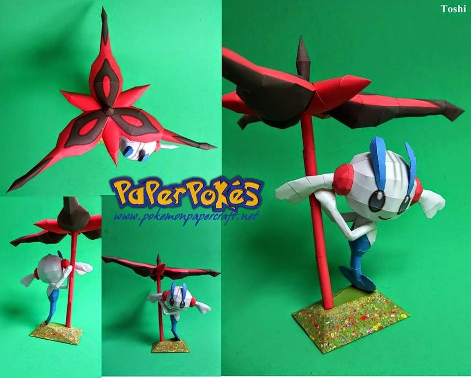 Pokemon Floette Papercraft