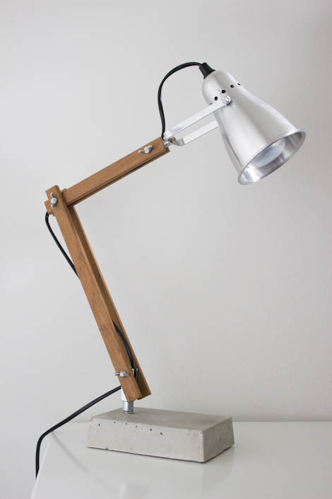 Favorit La petite fabrique de rêves: Do It Yourself : Une lampe industrielle HT43