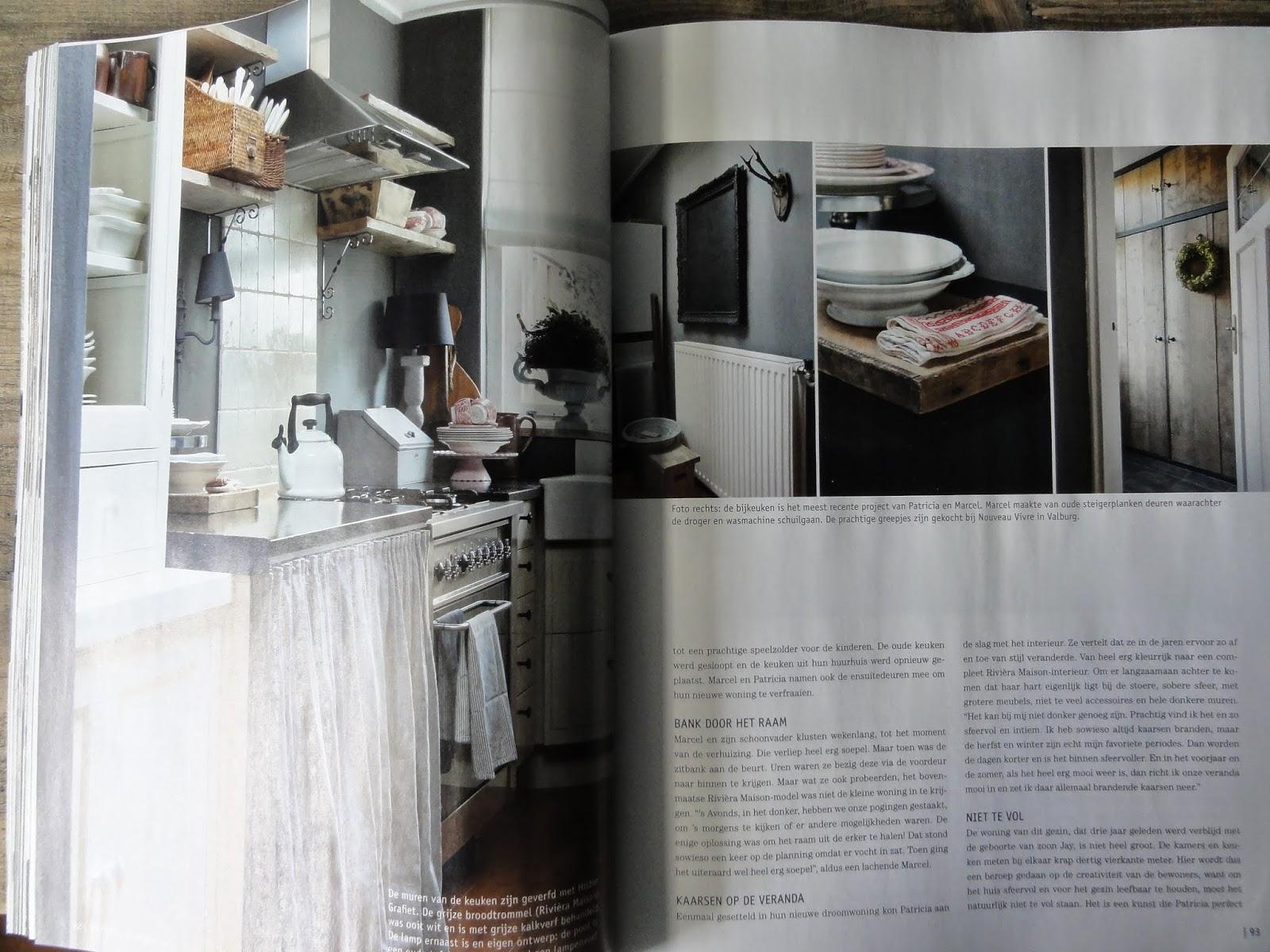Ons huis in wonen landelijke stijl - Oude stijl keuken wastafel ...