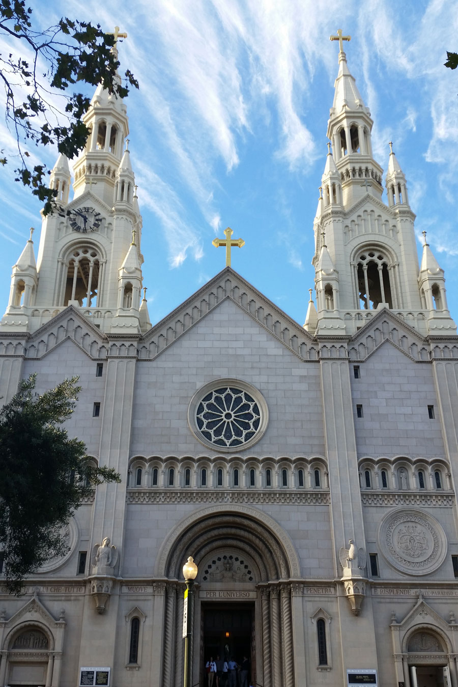 San Franscisco, st peter and paul church