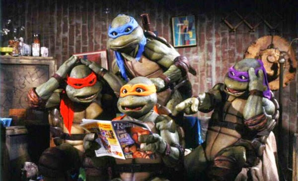 Tortugas Ninja película de 1990