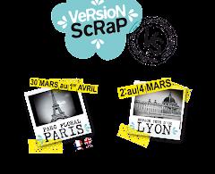 J'ai été bloggueuse partenaire du salon Version Scrap 2012