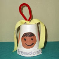 freedom bell martin luther king, jr kids craft