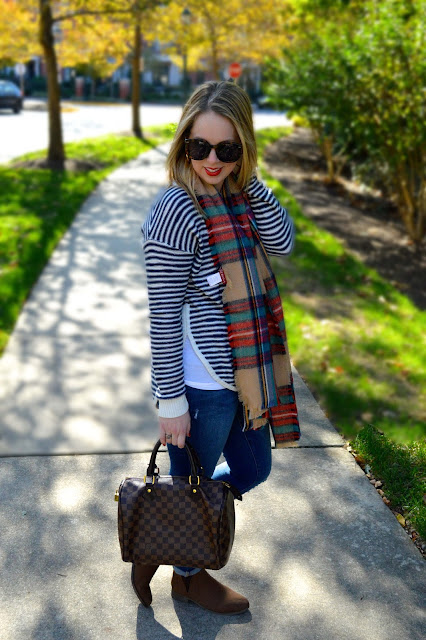 stripe-sweater-blanket-scarf