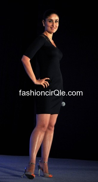 Kareena kapoor looking hot in a little black dress and sexy heels  -  Kareena Kapoor  -Sony VAIO T Ultrabook launch