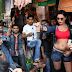 Veena Malik Permoted Condom Ads In Mumbai City India.
