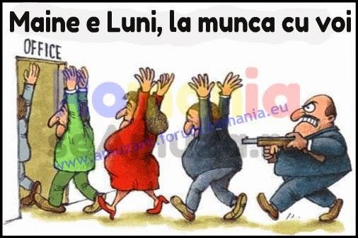 Caricaturi funny cu ziua de Luni, Statusuri