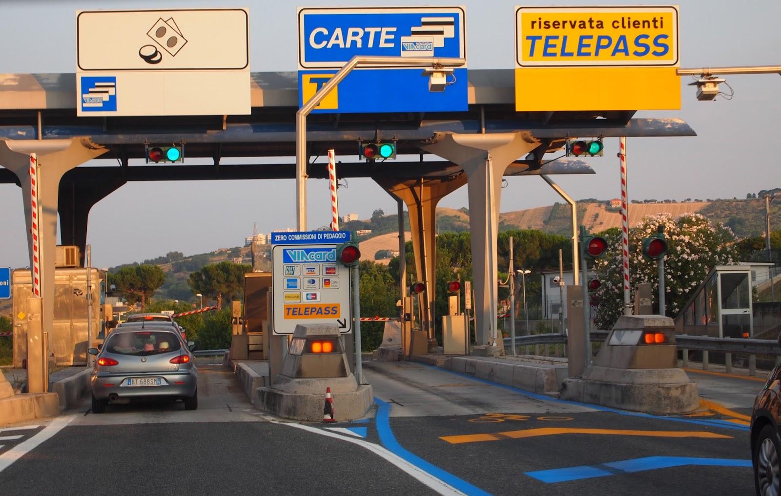 Kuvahaun tulos haulle moottoritiemaksut italia