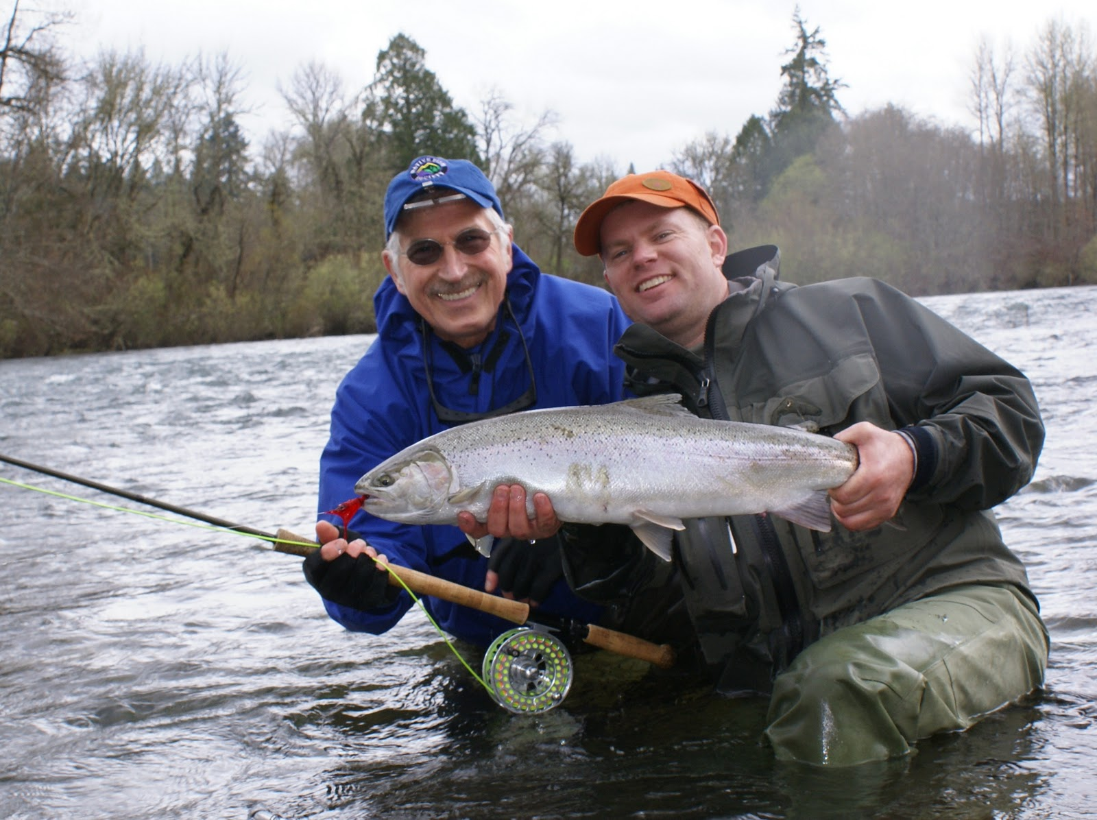 Fly fish oregon water time report winter steelhead workshops for Wilson river fishing report
