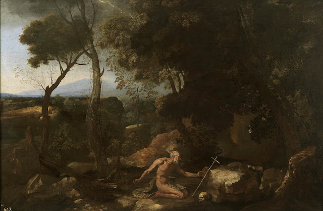 nicolas poussin,landscape,baroque paintings