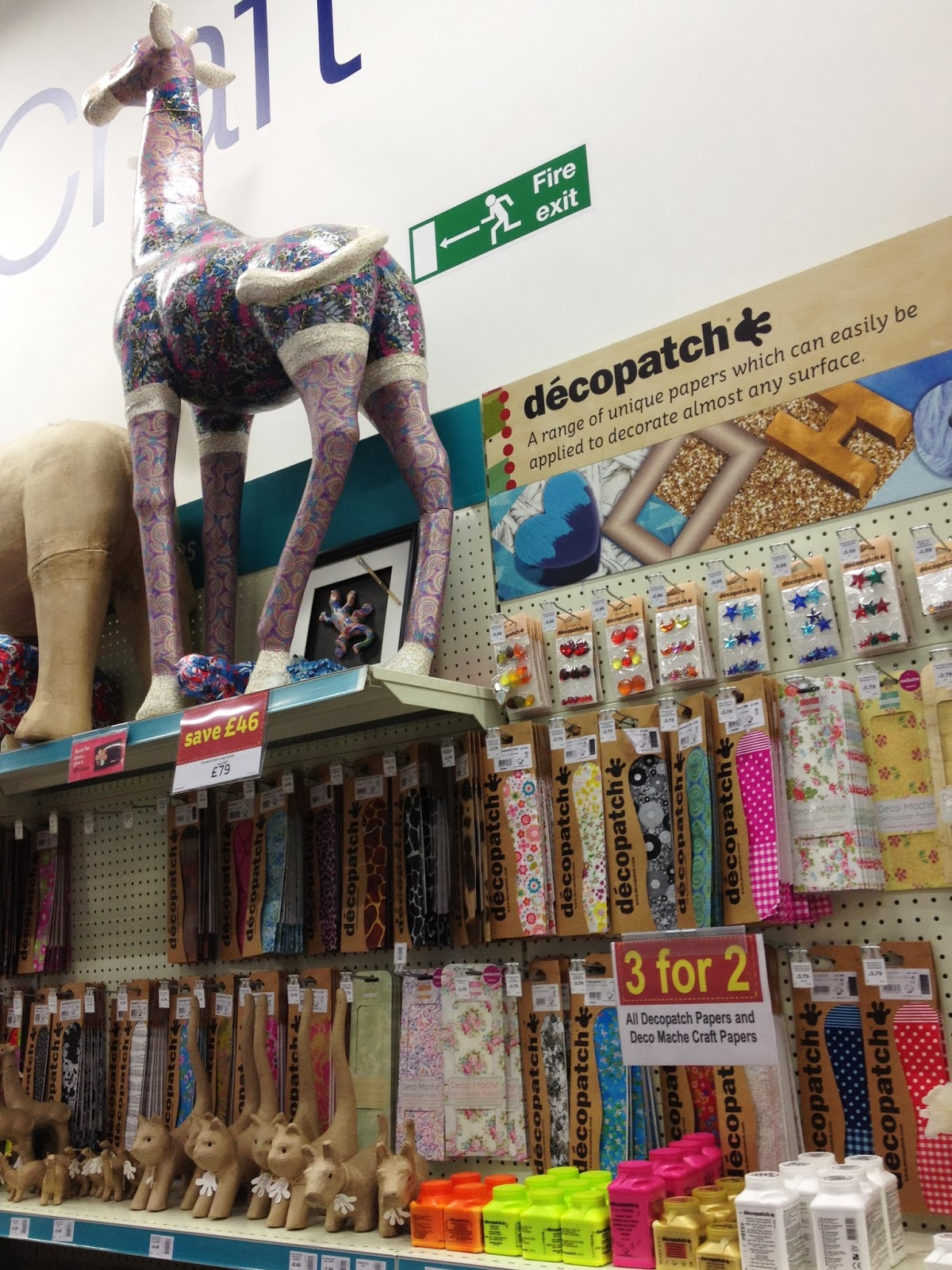 Decoupage at Hobbycarft