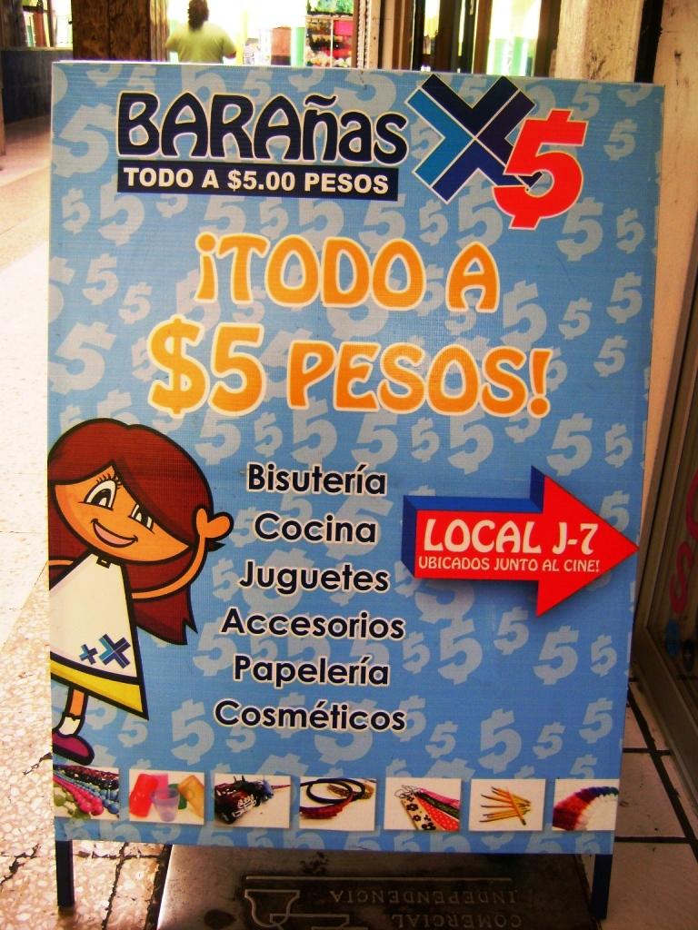 New Auto And Cars Tienditas De 3 Pesos Y Bara As Todo X 5