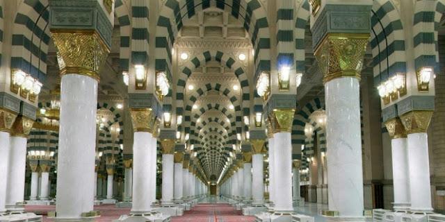 Rahasia di Balik `Tiang Aisyah` Masjid Nabawi