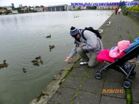 Viajar a Islandia con bebé