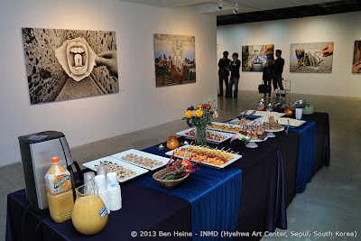 Ben Heine vernissage: Cold Buffet: The Universe of Ben Heine, Seoul, South Korea - 2013