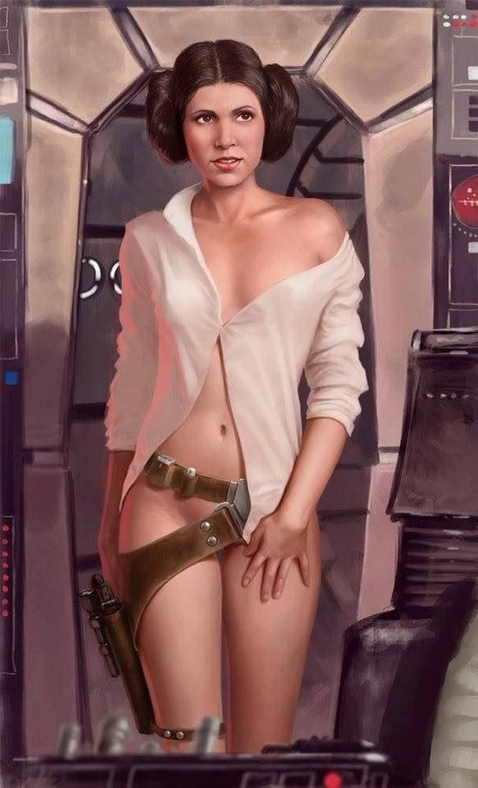 star wars sexy hot nue