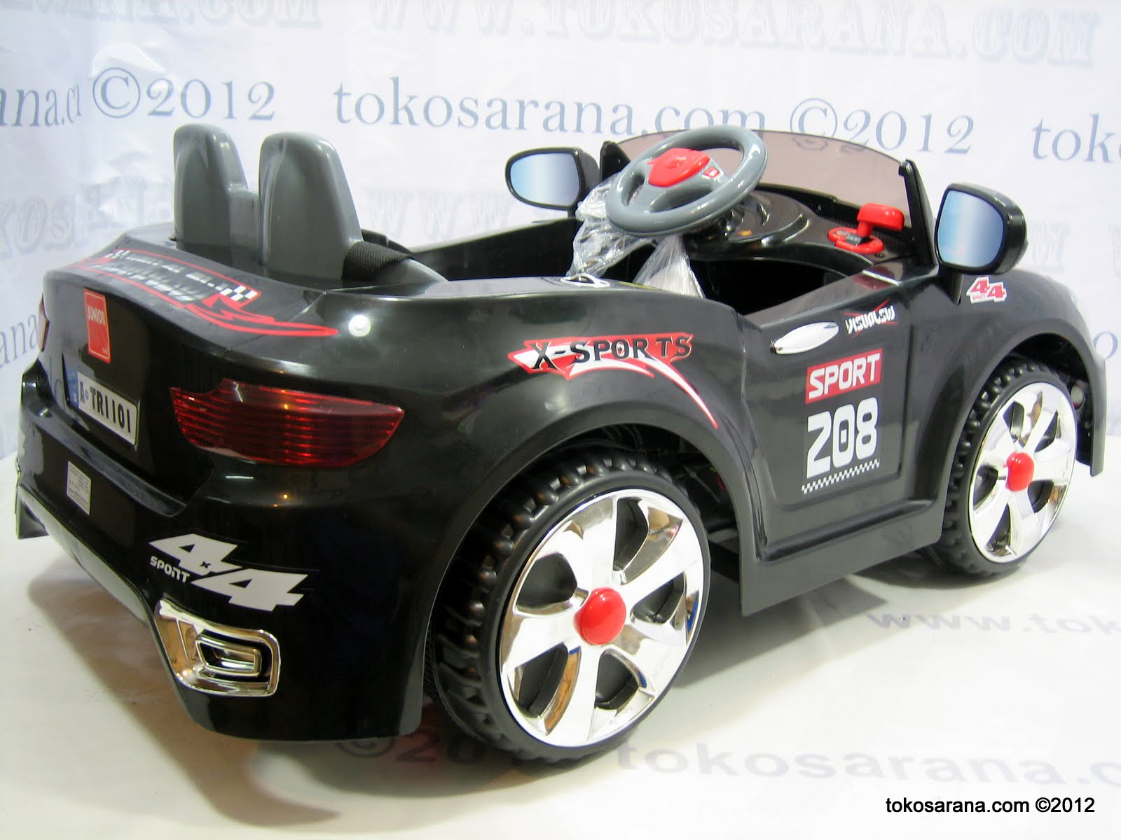 Mobil Mainan Aki Junior TR1201A 2 BNW Dinamo 4