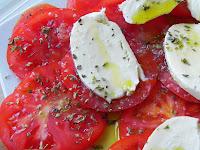 tomate raf mozarella