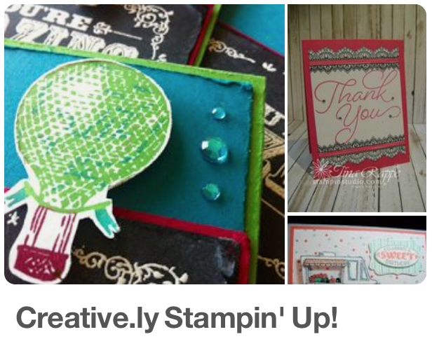 Creative.ly Stampin' Up! Card Pins