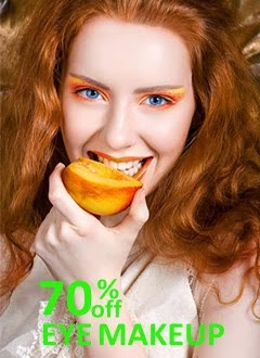 70% off EYE MAKEUP