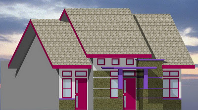 Gambar Desain Rumah Minimalis Type 80/152