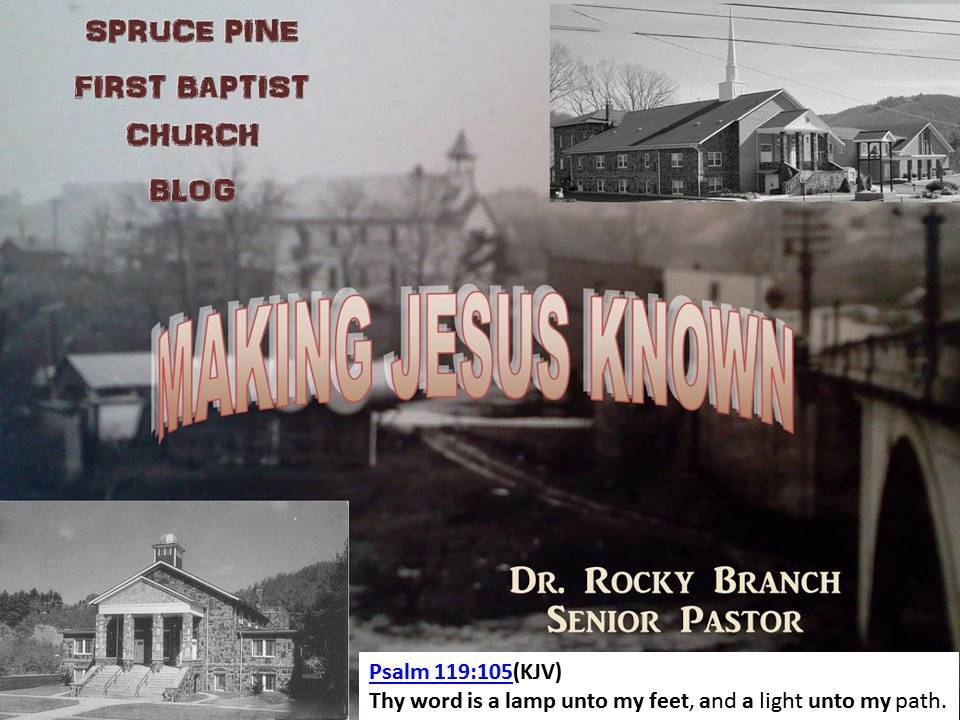 Spruce Pine First Baptist Church  Blog